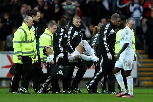 La mala notica fue la lesión de Chico Flores, quien se rompió los ligame...