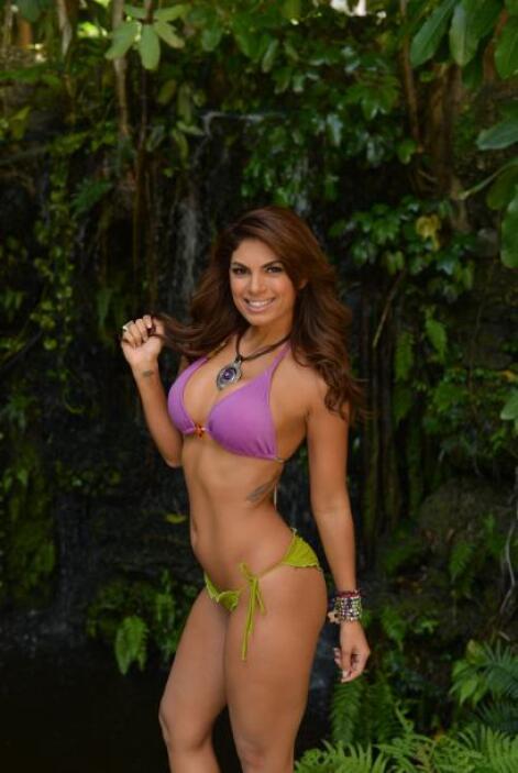 Maritza Hernández además de bella es una mujer inteligente y muy capaz.