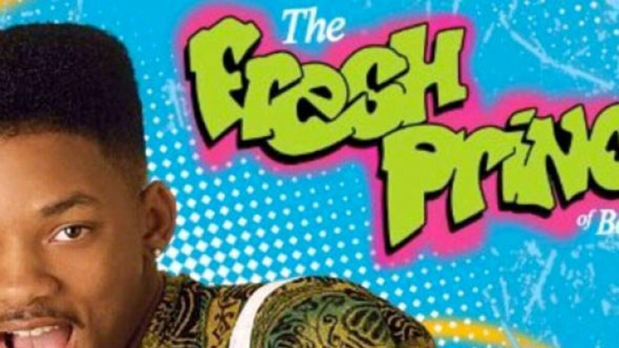 This is what happens when the Fresh Prince gets bored at home.