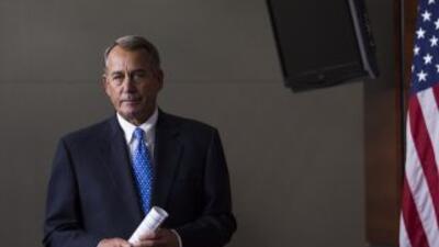 El presidente del Congreso, John Boehner (republicano de Ohio).