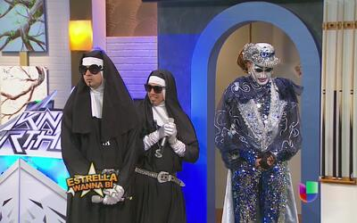 Estrellas Wanna Bí: Las monjas raperas vs Kriss Du Cecile