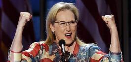 Celebridades como Meryl Streep y America Ferrera mostraron su apoyo a Hi...