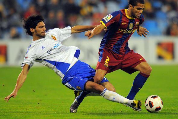 El equipo de Guardiola controló el balón desde el primer minuto. Dani Al...