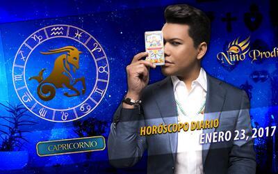 Niño Prodigio – Capricornio 23 de enero, 2017