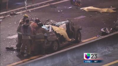 Identifican a víctimas de accidente fatal en la I-95