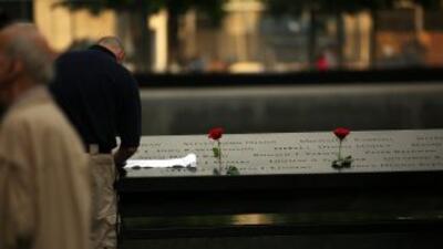 El grupo Padres y Familias de Bomberos y Víctimas del World Trade Center...
