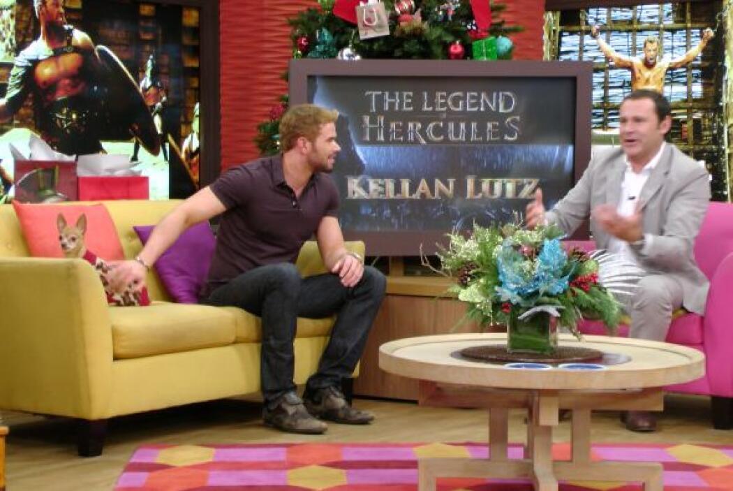 El actor Kellan Lutz, quien dará vida en el cine a 'Hércules', alborotó...