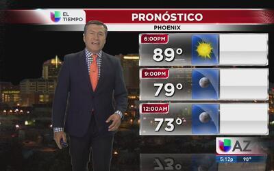Sube la temperatura en Phoenix