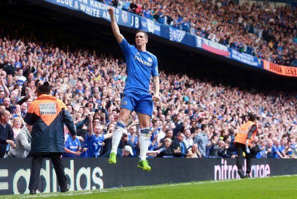 Fernando Torres, quien parece estar retomando su mejor versión, puso el...