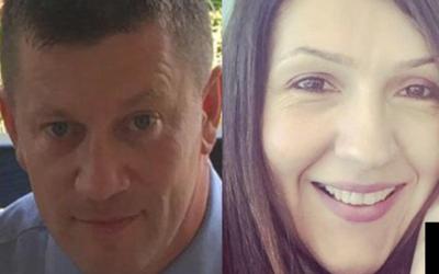 Keith Palmer y Aysha Frade, dos de las tres víctimas mortales del...
