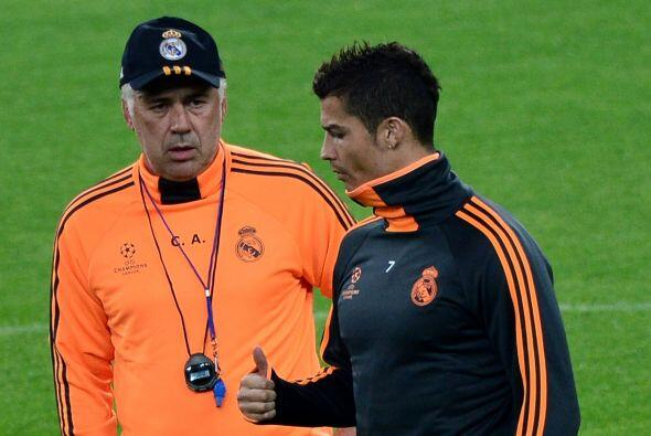 Ancelotti llegó a calmar las aguas con los peso pesado del vestua...