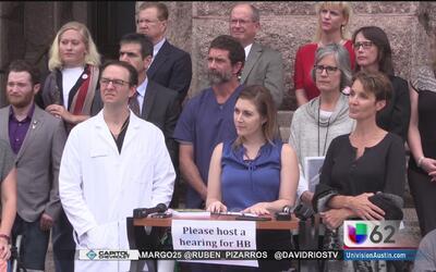 Decenas de personas piden una audiencia para hablar a favor de la marihu...