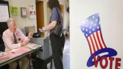 Campaña de votación en CA