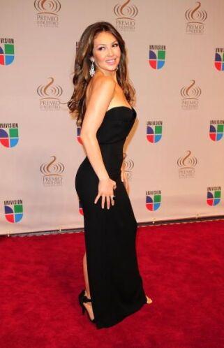 Thalía tiene un estilo muy peculiar que entra en lo sexy y encantador a...