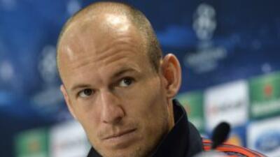 Robben se dio tiempo de hablar de su paso como madridista.