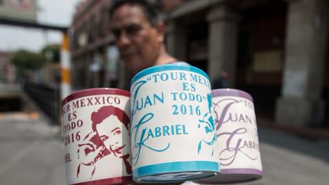 Juan Gabriel en la Ciudad de México
