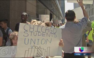 Estudiantes de CPS exigen educación de calidad