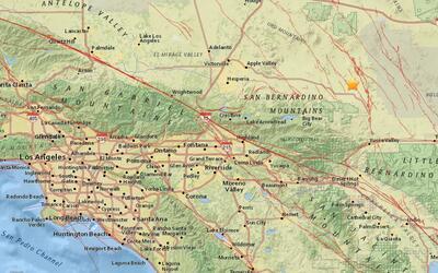 Temblor de 3.4 en Big Bear City, California.