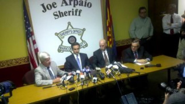 DHS rompe lazos con Arpaio
