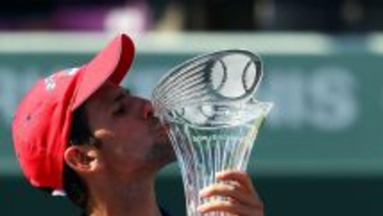 El serbio Djokovic mostró gran temple y a pesar de ir abajo en algunas o...