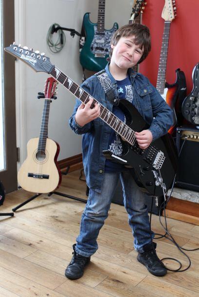 La primera vez que Alexander Santarpia tocó un instrumento fue cu...