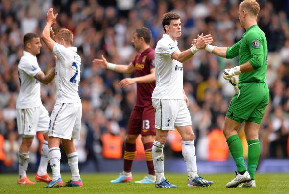 Triunfo de 3-1 para el Tottenham, que aún sueña en alcanzar puestos de C...