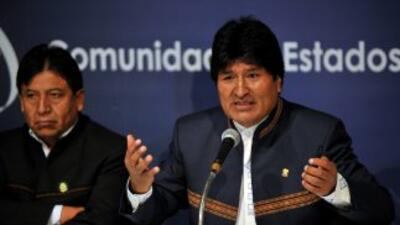 Evo Morales propone espiar a EEUU.