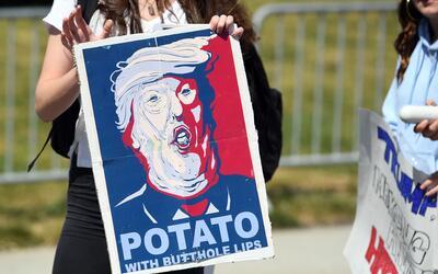 Manifestaciones anti-Trump
