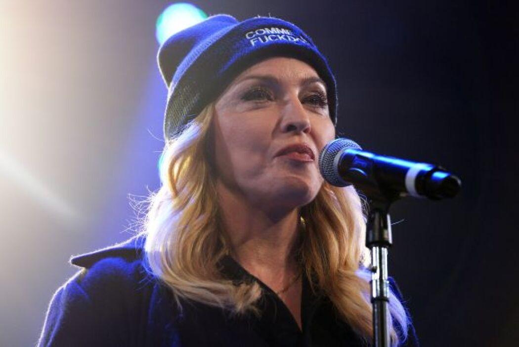 Madonna, arremetió contra el presidente de Venezuela, Nicolás Maduro, al...