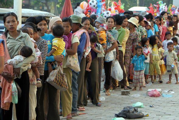 Las autoridades se habían preparado para la llegada del tif&oacut...