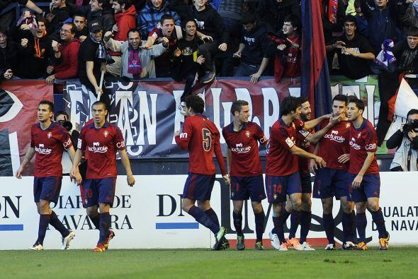 Osasuna había avisado con un mano a mano de Roberto Torres al 13 pero fi...