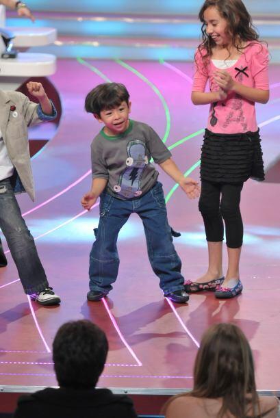 El pequeño Harry nos sorprendió con su gran carisma.