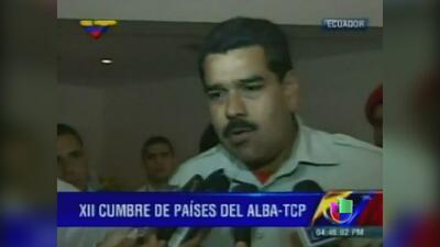 Documento que certificaba que Nicolás Maduro nació en Colombia resultó s...