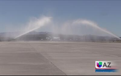 Vuelo inaugural de Aeromar a Tucson