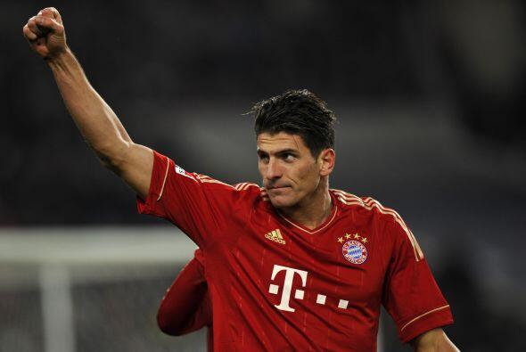 El último goleador que tenemos es el alemán Mario Gómez.
