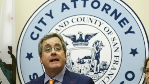 Dennis Herrera, fiscal general de San Francisco, lidera la batalla judic...