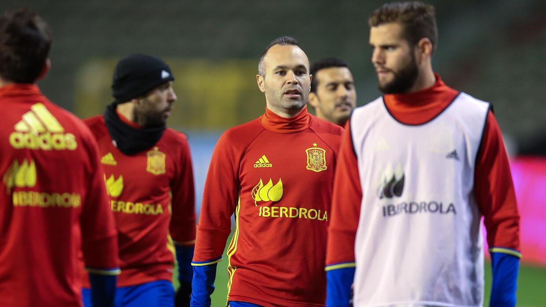 Se suspendió el duelo entre Bélgica y España