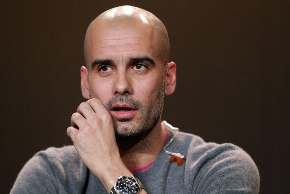 Josep Guardiola: Sí, sabemos que Pep tiene contrato con el Bayern...