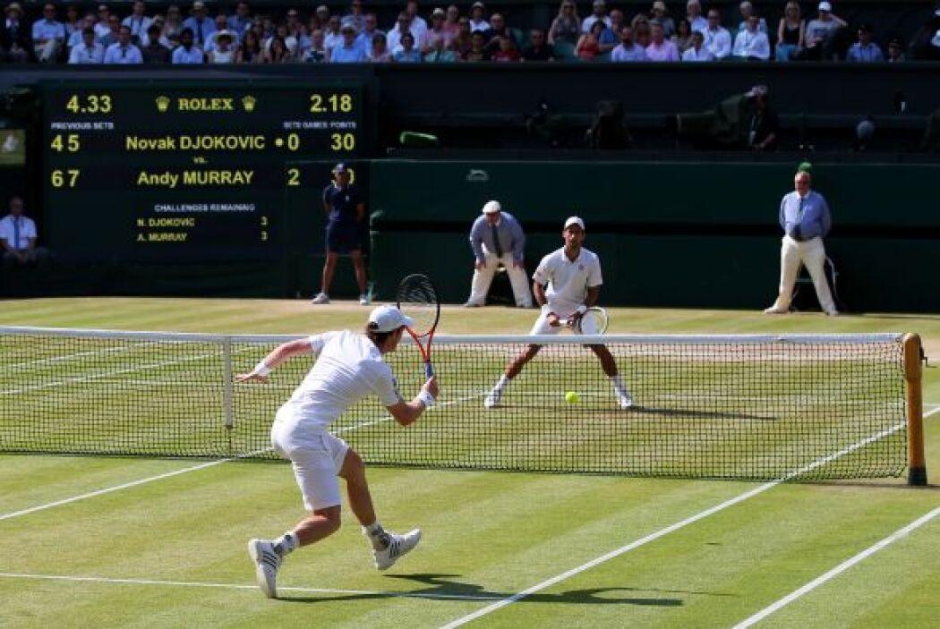 Djokovic tuvo un momento de reacción. El inesperado giro, sin embargo, n...