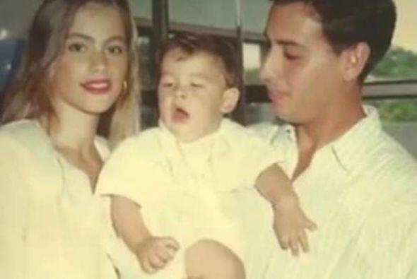 Sofía ya ha estado casada una vez, con Joe González, el padre de su hijo...
