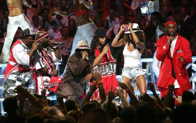 MIAMI - AUGUST 29: Lil Jon and East Side Boyz perform at the 2004 MTV Vi...