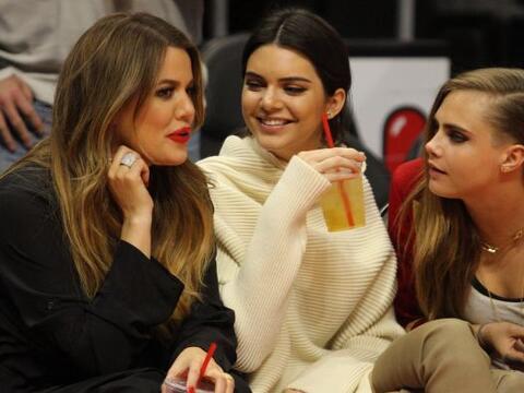 Parece que las Kardashian-Jenner tienen miembro honorario en su club de...