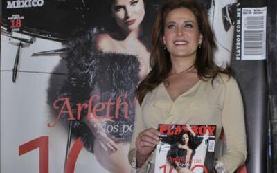 Así, como todos la habían querido ver, posó Arleth Terán en la revista m...