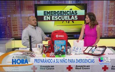 ¿Cómo preparar a su hijo ante una emergencia en su escuela?