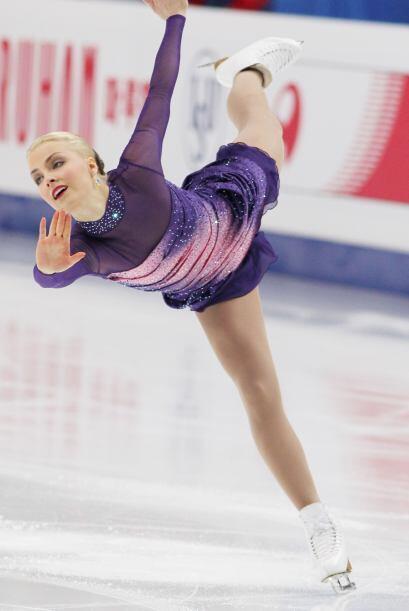 La Hermosa finlandesa Kiira Korpi arrebató suspiros en la pista d...