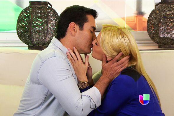 ¡Ojalá que los besos de Salvador te den mucha fuerza!