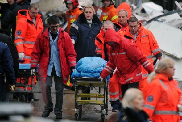 Los servicios de emergencias señalan que la mayoría de las víctimas de l...