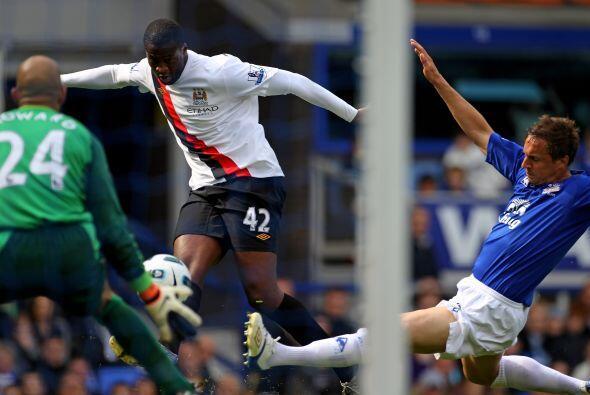 El 'City' había empezado ganando con un bonito gol de Yaya Toure...