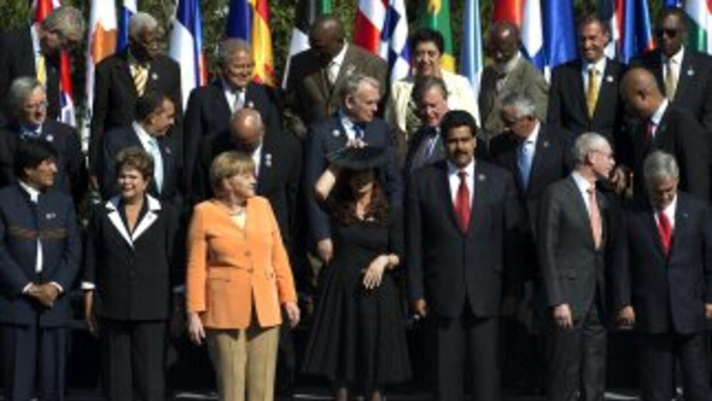 El presidente chileno, Sebastián Piñera, clausuró la primera cumbre entr...