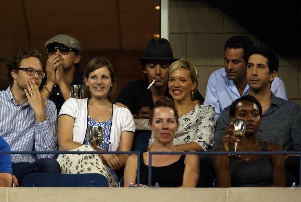 """A la izquierda de los famosos, el actor de """"Friends"""" David Schwimmer. Mi..."""